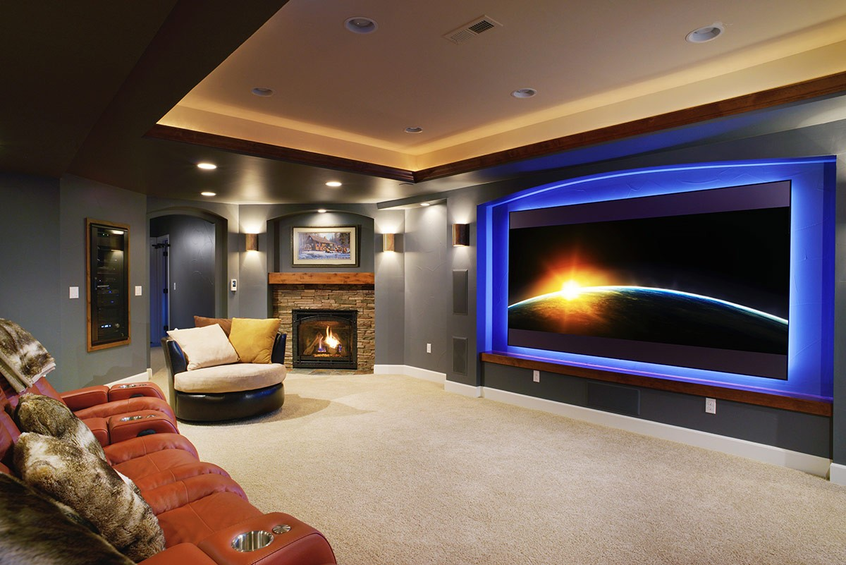 Sunnyside Home Theater Basements Amp Beyond